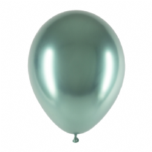 "Chromium Green 5 inch Balloons - Decotex 5"" Balloons 50pcs"